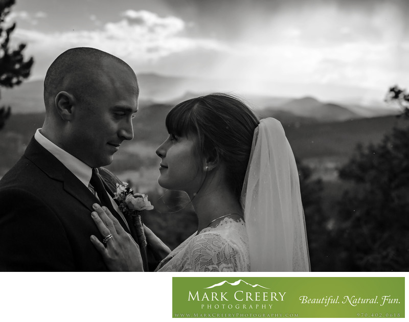 Elopement photographer in Estes Park