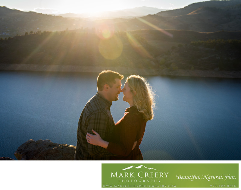 Engagement photos in Fort Collins