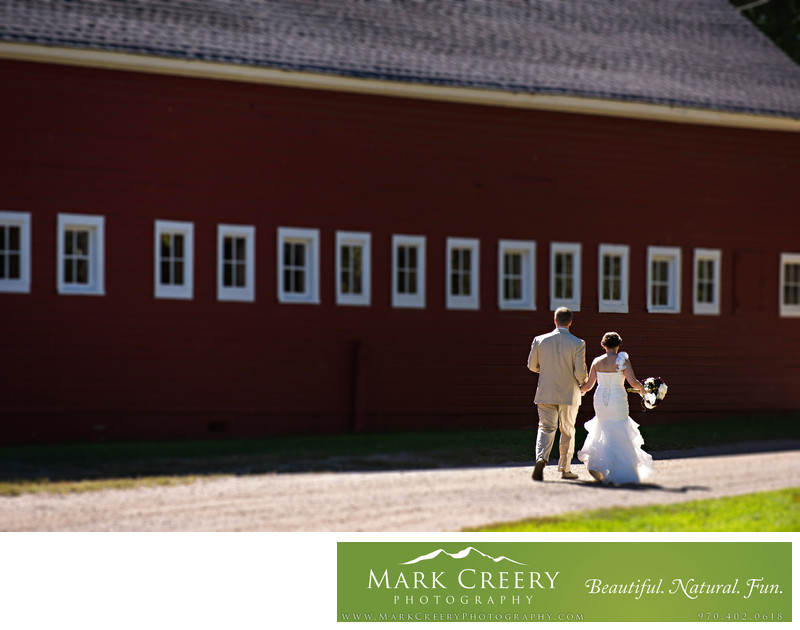 Hereford Ranch Wyoming wedding photo