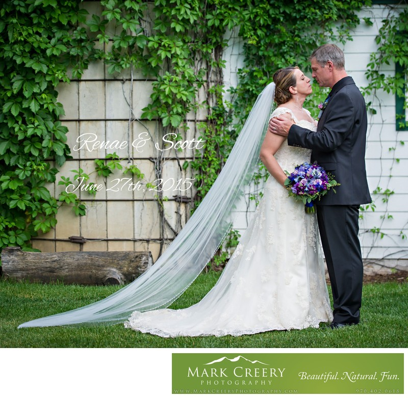 Bride & Groom at Lionsgate Event Center Gatehouse
