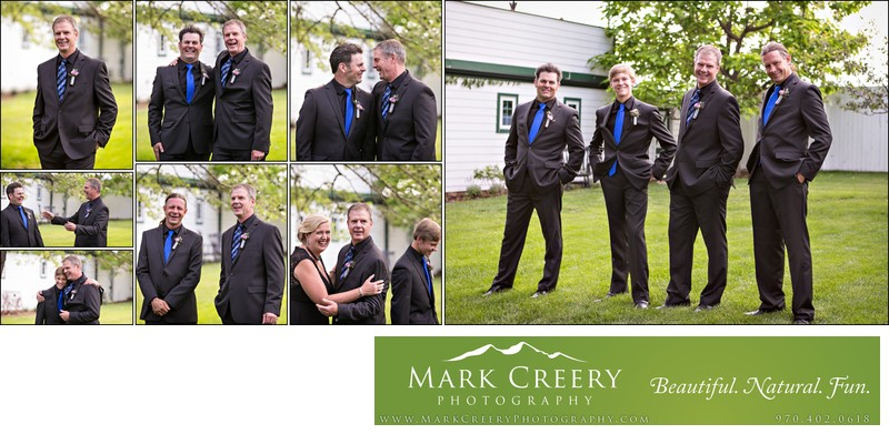 Groomsmen at Lionsgate Event Center Gatehouse wedding