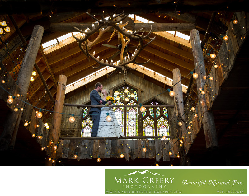 Barn at Evergreen Memorial Park wedding photographer