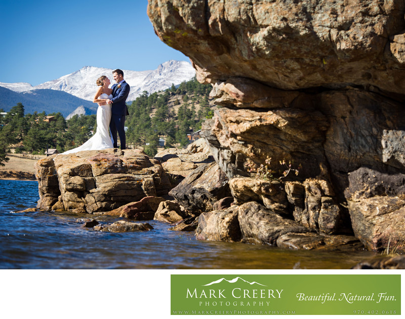 Marys Lake Lodge wedding photographer