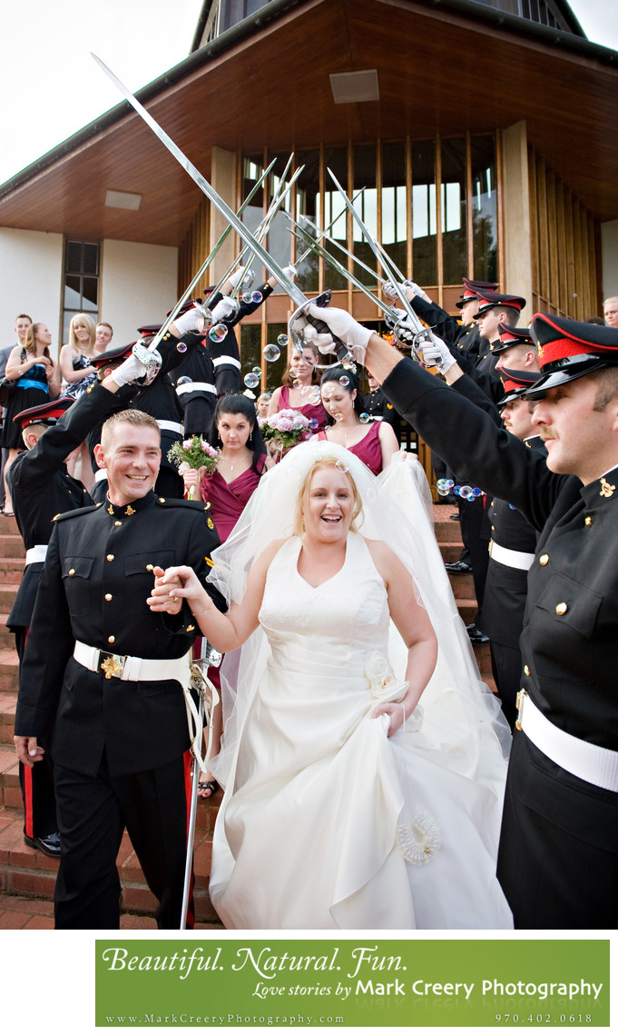 Military weddings in Colorado