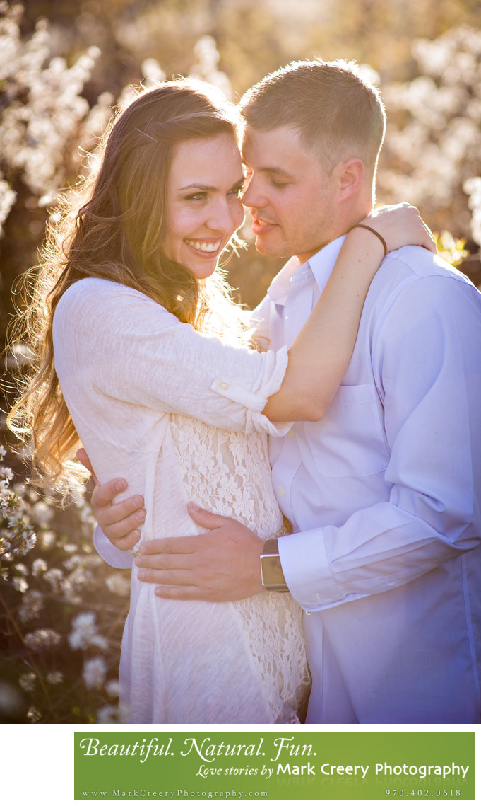 Spring engagement photography in Fort Collins