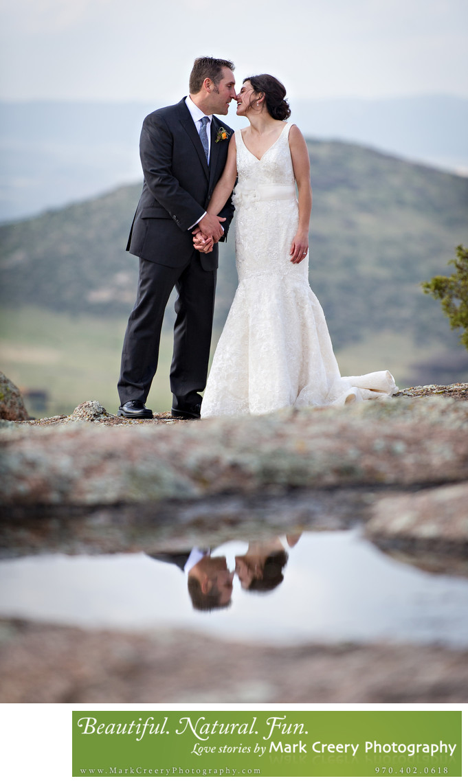 Outdoor wedding photographer in Colorado