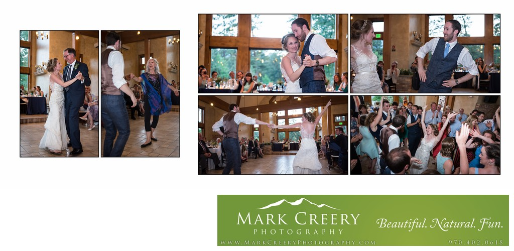 First Dances at Della Terra wedding reception