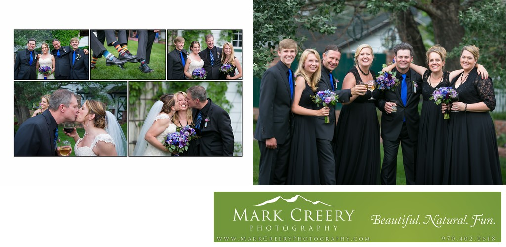 Fun bridal party pics at Lionsgate Event Center wedding