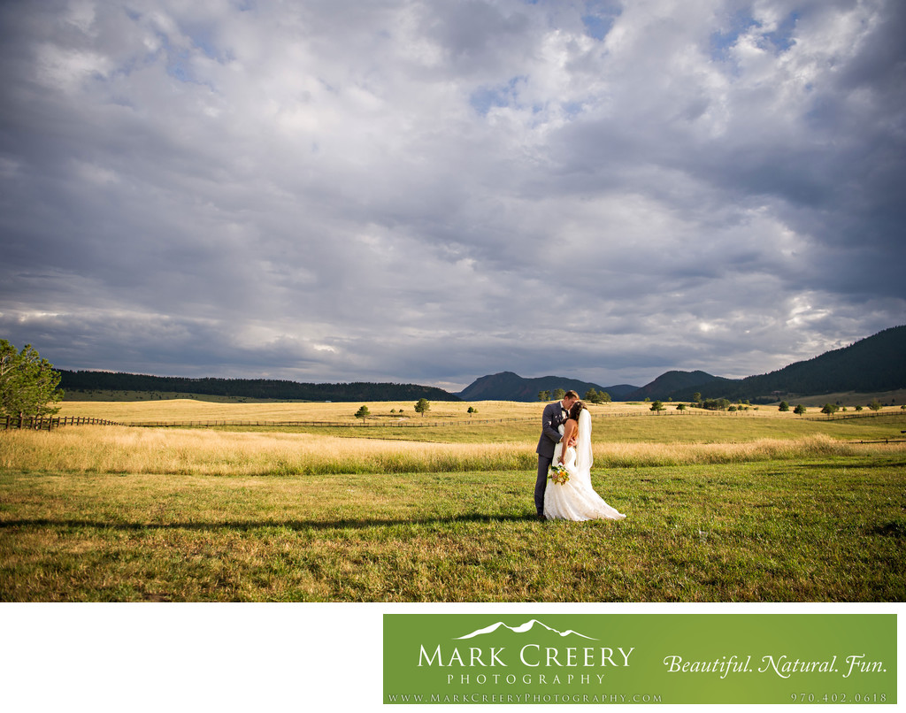 Spruce Mountain Ranch wedding photographer