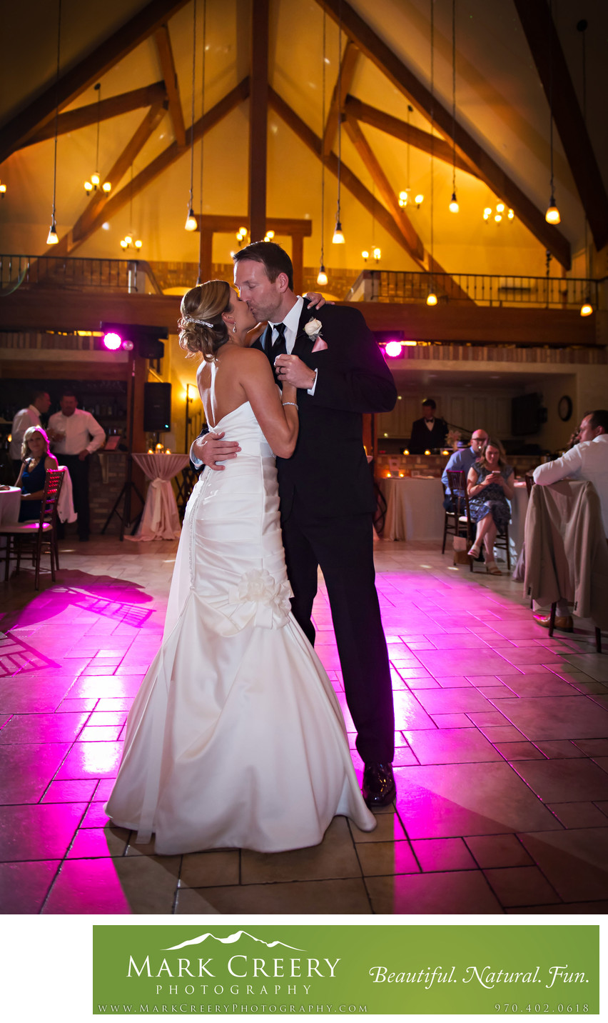 First Dance at Della Terra wedding reception