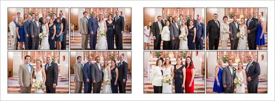 Family formals in Saint Joseph's Church in Fort Collins