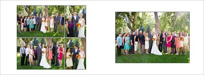 Family portraits in Fort Collins wedding