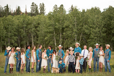 Piney River Ranch wedding photography