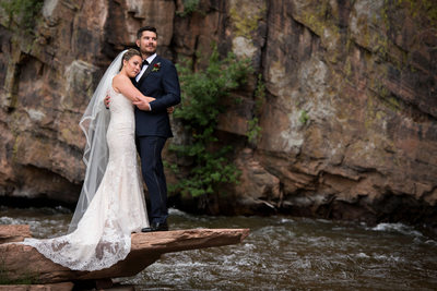Planet Bluegrass wedding in Lyons, Colorado