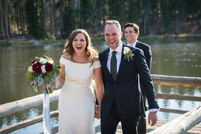 Sprague Lake wedding photos