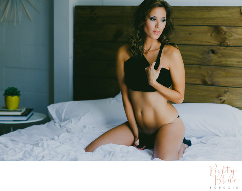 Natural Light Boudoir Photography