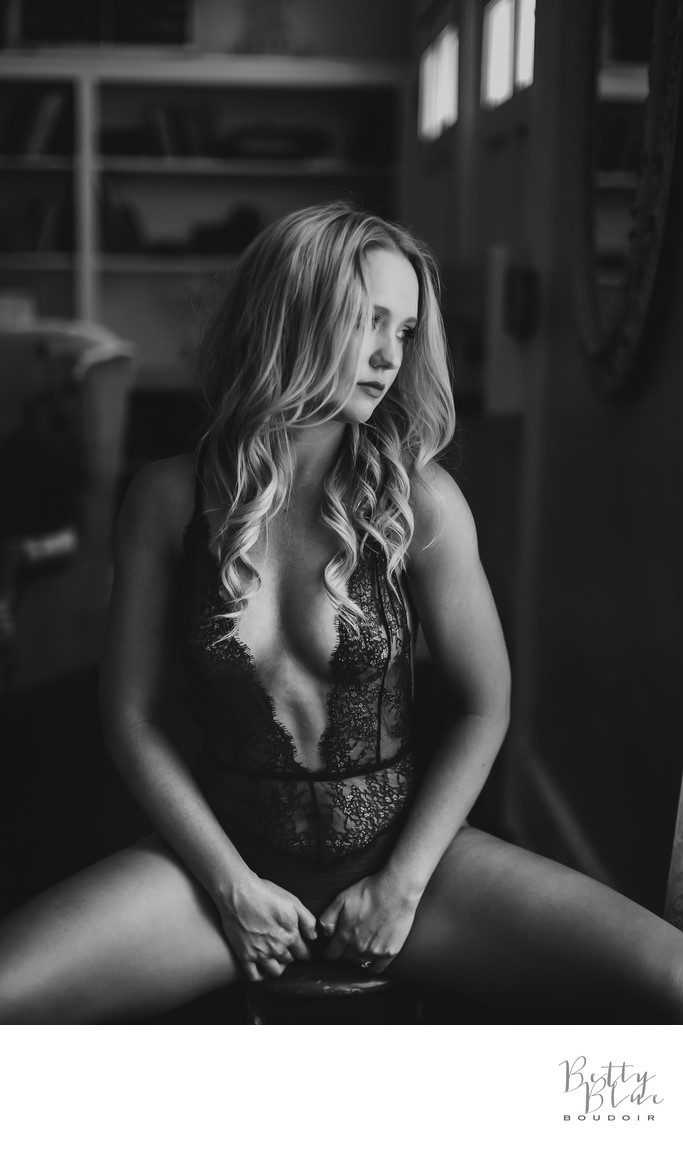 Sultry Female Boudoir photography