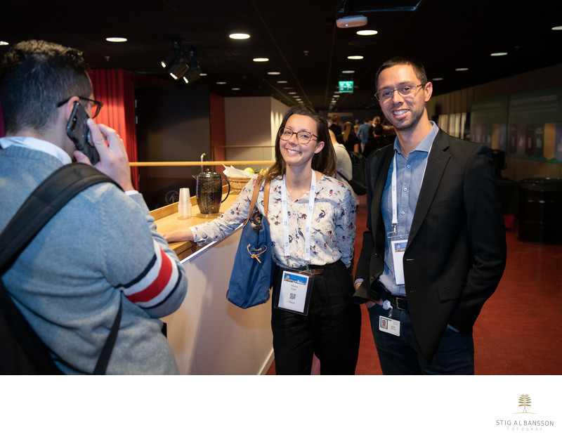 Mingel i paus på Cisco Connect i Göteborg