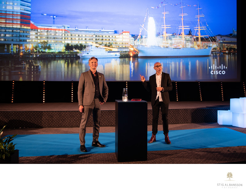 Cisco och Apple på event i Göteborg