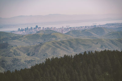 View of San Francisco from Mt. Tamalpais