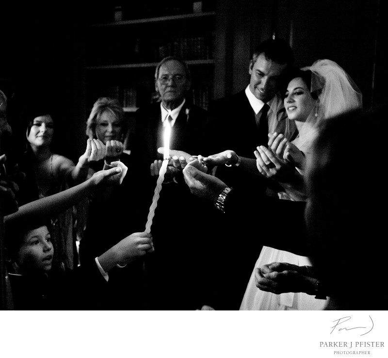 Beverly Hills Black and White Wedding Photography