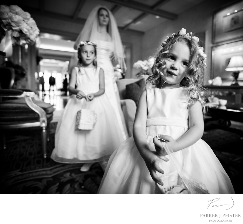 Four Seasons Beverly Hills Flower Girl