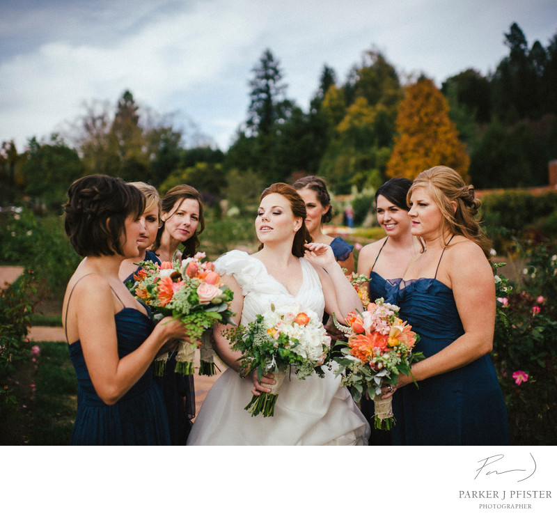 Biltmore Estate Bridal Party Pictures