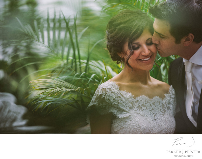Biltmore Conservatory Destination Wedding Photographer