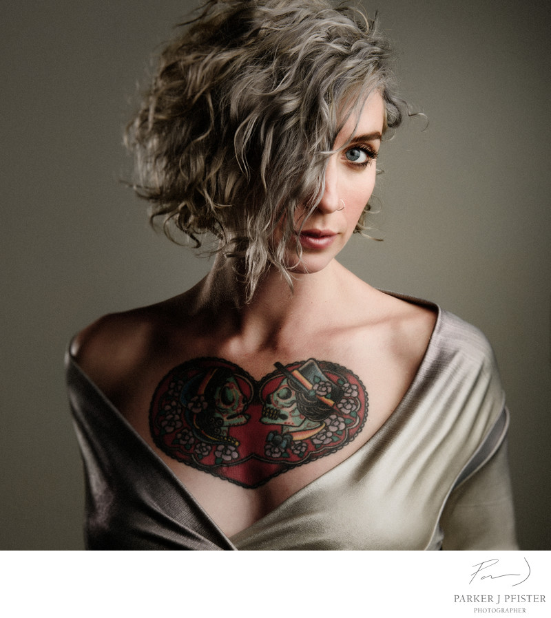 Asheville Tattoo Portrait Photographer