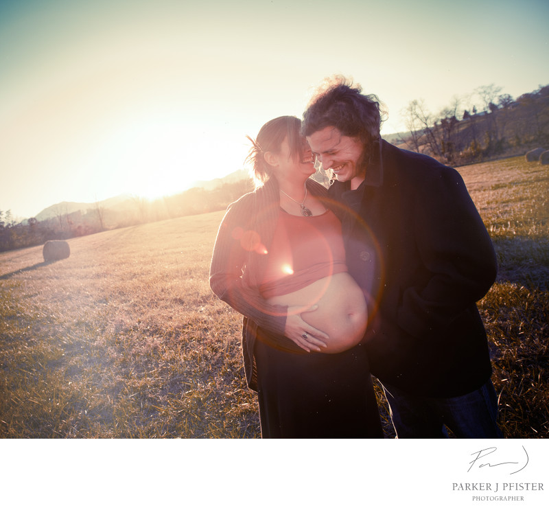 Destination Maternity Portraits in Asheville NC