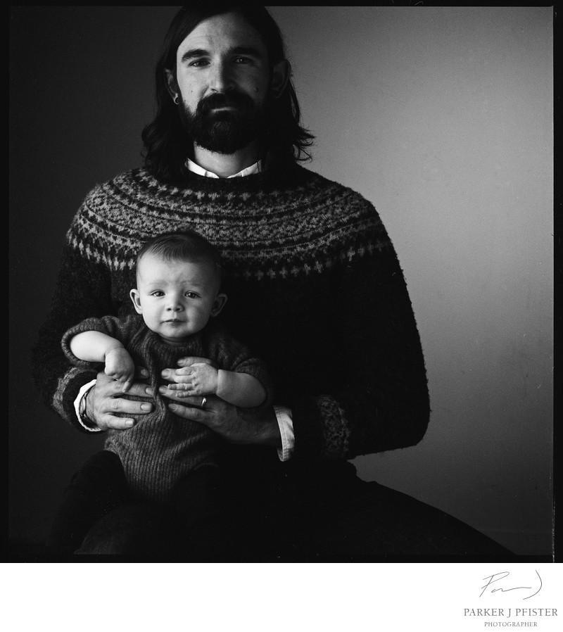 Father and Son Portrait Photographer