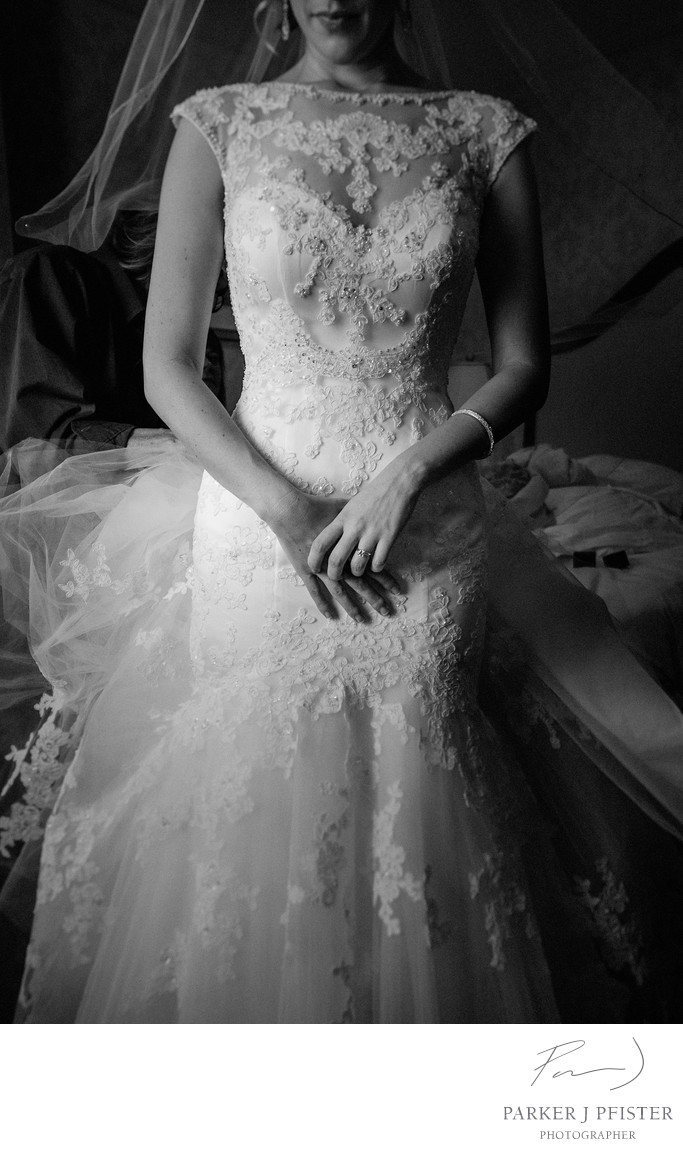 Beautiful Black and White Bridal Pictures