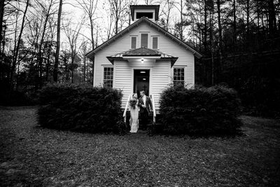 Highlands NC Rustic Church Wedding Photos