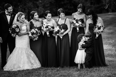 Biltmore Estate Bridal Party Photos