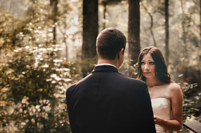 Black Mountain Sanctuary Wedding Photos