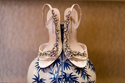 Ritz Carlton Atlanta Wedding Shoes Photos