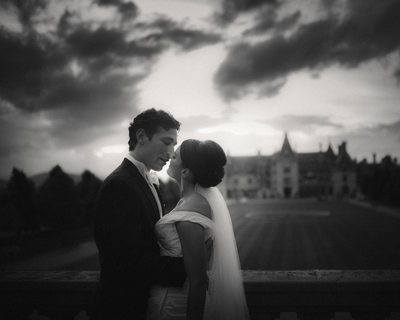 Black and White Biltmore Estate Wedding Photos