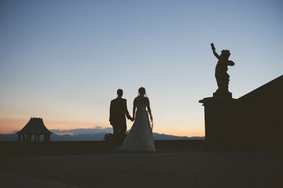 Sunset Wedding at Biltmore Estate Photography