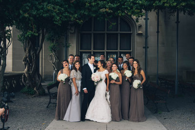 Wedding Party at Biltmore Estate Photography