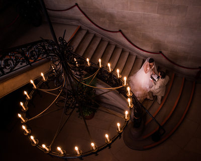 Bride and Groom at Biltmore Estate Wedding Photography