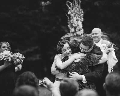 International Black and White Wedding Photographer