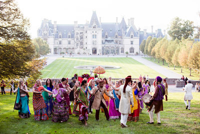 Indian Wedding Photography Biltmore Estate