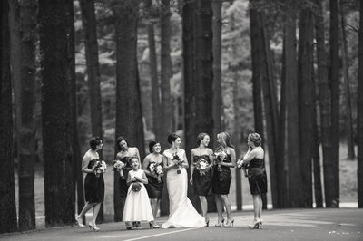 Asheville Biltmore Wedding Party Photography