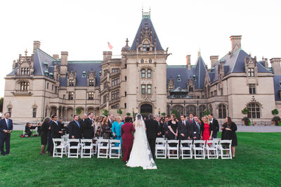Biltmore Front Lawn Jewish Wedding Photographer
