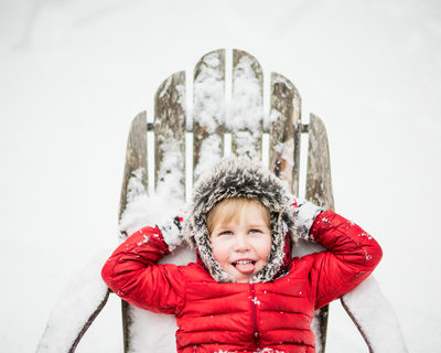 Snow pictures in Asheville Portrait Photographer