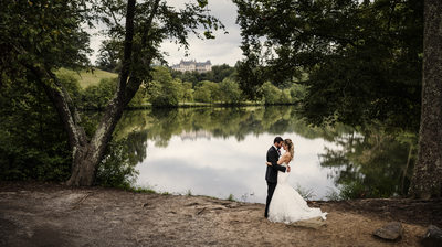 Biltmore Estate Lagoon Wedding Photographer
