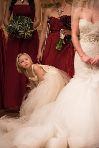 Asheville Wedding Photography Flower Girl
