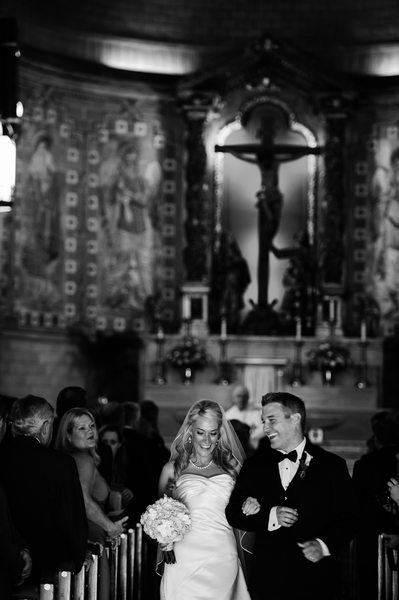 Basilica of St. Lawrence Asheville Wedding Photograph