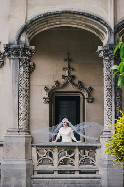 Biltmore Estate Terrace Bridal Portraits