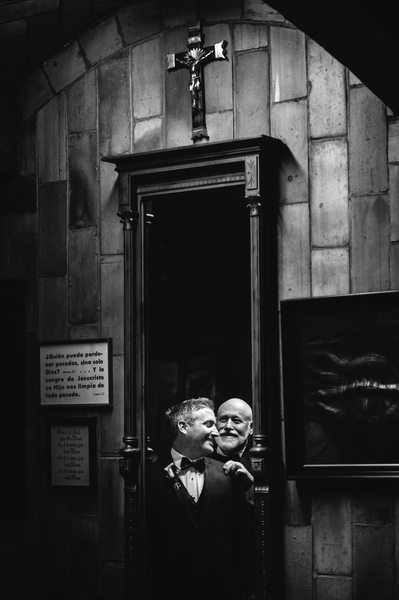 Basilica of St Lawrence Asheville Wedding Photography